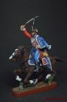 Рядовой лейб-гвардии гусарского полка - Оловянный солдатик, роспись 54 мм. Все оловянные солдатики расписываются художником вручную