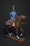 Французский генерал-лейтенант, адъютант Наполеона Гаспар Гурго 1 - Оловянный солдатик, роспись 54 мм. Все оловянные солдатики расписываются художником вручную