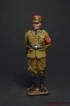 Немецкий офицер - Оловянный солдатик, роспись 54 мм. Все оловянные солдатики расписываются художником вручную