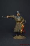 Польский панцирный казак, 17 в. - Оловянный солдатик, роспись 54 мм. Все оловянные солдатики расписываются художником вручную