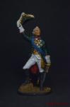 Генералиссимус А.В. Суворов - Оловянный солдатик, роспись 54 мм. Все оловянные солдатики расписываются художником вручную