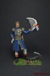Мюрат в форме адмирала флота. 1811 год. - Оловянный солдатик, роспись 54 мм. Все оловянные солдатики расписываются художником вручную