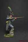 Австрийский егерь 1805 - Оловянный солдатик, роспись 54 мм. Все оловянные солдатики расписываются художником вручную