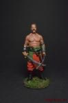 Запорожский казак - Оловянный солдатик, роспись 54 мм. Все оловянные солдатики расписываются художником вручную