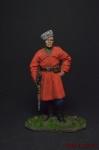 Казак-пластун - Оловянный солдатик, роспись 54 мм. Все оловянные солдатики расписываются художником вручную