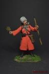 Пластун с гранатой - Оловянный солдатик, роспись 54 мм. Все оловянные солдатики расписываются художником вручную
