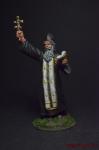 Полковой священник РИА, 1915 - Оловянный солдатик, роспись 54 мм. Все оловянные солдатики расписываются художником вручную