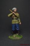 Вахмистр 1-го Енисейского казачьего полка, 1919 год - Оловянный солдатик, роспись 54 мм. Все оловянные солдатики расписываются художником вручную