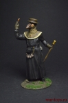 Чумной доктор - Оловянный солдатик, роспись 54 мм. Все оловянные солдатики расписываются художником вручную