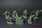 Набор солдатиков - Конец войны - Набор солдатиков 6 шт. Масштаб 1/32 (высота 54 мм.). Материал-пластик