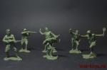 Набор - Оборона Брестской крепости - Набор солдатиков 6 шт. Масштаб 1/32 (высота 54 мм.). Материал-пластик