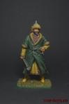 Монгольский знатный, 13 век - Оловянный солдатик коллекционная роспись 54 мм. Все оловянные солдатики расписываются художником вручную