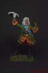 Князь Меньшиков в парадном мундире, 1710 - Оловянный солдатик коллекционная роспись 54 мм. Все оловянные солдатики расписываются художником вручную