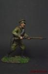 Рядовой Русской Армии - Оловянный солдатик коллекционная роспись 54 мм. Все оловянные солдатики расписываются художником вручную