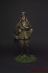 Летчик французской армии, 1915 - Оловянный солдатик коллекционная роспись 54 мм. Все оловянные солдатики расписываются художником вручную