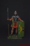 Римский легионер, 1-2 вв. н.э. - Оловянный солдатик коллекционная роспись 54 мм. Все оловянные солдатики расписываются художником вручную