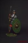 Республиканский солдат, 31 г. до н. э. - Оловянный солдатик коллекционная роспись 54 мм. Все оловянные солдатики расписываются художником вручную