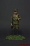 Летчик-истребитель РККА 1943-45 годы - Оловянный солдатик коллекционная роспись 54 мм. Все оловянные солдатики расписываются художником вручную