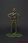 Боец Красной Армии 1921 - Оловянный солдатик коллекционная роспись 54 мм. Все оловянные солдатики расписываются художником вручную