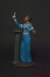 Мария Склодовская-Кюри - Оловянный солдатик коллекционная роспись 54 мм. Все оловянные солдатики расписываются художником вручную