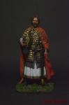 Русский князь Александр Ярославович Невский (1220-1263 гг.) - Оловянный солдатик коллекционная роспись 54 мм. Все оловянные солдатики расписываются художником вручную