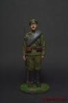 Рядовой русской армии в походной форме - Оловянный солдатик коллекционная роспись 54 мм. Все оловянные солдатики расписываются художником вручную