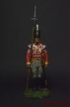 Сержант пехотных полков, Великоритания 1808-15 - Оловянный солдатик коллекционная роспись 54 мм. Все оловянные солдатики расписываются художником вручную