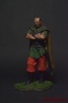 Аттила, Правитель Гуннов, 395-453 гг - Оловянный солдатик коллекционная роспись 54 мм. Все оловянные солдатики расписываются художником вручную