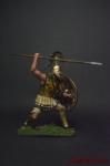 Греция Гоплит с копьем - 5 в до н.э. - Оловянный солдатик коллекционная роспись 54 мм. Все оловянные солдатики расписываются художником вручную