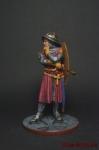Последний Тамплиер, 1307 - Оловянный солдатик коллекционная роспись 54 мм. Все оловянные солдатики расписываются художником вручную