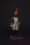 Офицер кирасир 10-й полк 1809 - Оловянный солдатик коллекционная роспись 54 мм. Все оловянные солдатики расписываются художником вручную