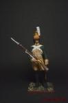 Легкий драгун 19-го полка, 1805 - Оловянный солдатик коллекционная роспись 54 мм. Все оловянные солдатики расписываются художником вручную