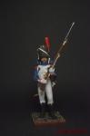 Карабинер легкой пехоты, 1809 г. - Оловянный солдатик коллекционная роспись 54 мм. Все оловянные солдатики расписываются художником вручную