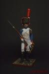 Конный егерь Императорской Гвардии, 1807 - Оловянный солдатик коллекционная роспись 54 мм. Все оловянные солдатики расписываются художником вручную
