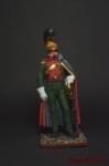 Офицер улан, 1812 г. - Оловянный солдатик коллекционная роспись 54 мм. Все оловянные солдатики расписываются художником вручную