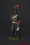 Жандарм неаполитанской королевской гвардии 1812 - Оловянный солдатик коллекционная роспись 54 мм. Все оловянные солдатики расписываются художником вручную