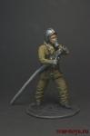 Пожарный - Оловянный солдатик коллекционная роспись 54 мм. Все оловянные солдатики расписываются художником вручную