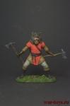 Викинг - фентези - Оловянный солдатик коллекционная роспись 54 мм. Все оловянные солдатики расписываются художником вручную