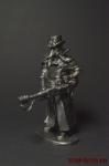 Чумной доктор стимпанк с огнеметом - Оловянный солдатик. Чернение. Высота солдатика 54 мм
