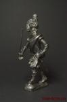 Шотландский офицер (Тонкая красная линия) - Оловянный солдатик. Чернение. Высота солдатика 54 мм