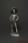 Мексиканский Бандит - Оловянный солдатик. Чернение. Высота фигурки 54 мм