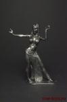 Танцовщица - Оловянный солдатик. Чернение. Высота фигурки 54 мм
