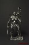 ОРЧАНКА - ШАМАНКА - Оловянный солдатик. Чернение. Высота фигурки 54 мм
