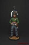 Генерал-лейтенант князь П.И.Багратион. Россия, 1805 г. - Оловянный солдатик коллекционная роспись 54 мм. Все оловянные солдатики расписываются художником вручную