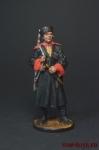 Красноармеец кубанских казачьих кавалерийских частей. 1939-43 г - Оловянный солдатик коллекционная роспись 54 мм. Все оловянные солдатики расписываются художником вручную