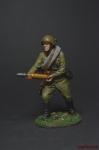 Артиллерист со снарядом к 76-мм дивизионной пушке 1941-43 СССР - Оловянный солдатик коллекционная роспись 54 мм. Все фигурки расписываются художником вручную