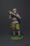 Красноармеец-мин с миной к 120-мм плк. миномёту 1941-43 СССР - Оловянный солдатик коллекционная роспись 54 мм. Все фигурки расписываются художником вручную