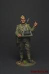 Красноармеец-связист, пехота Красной Армии 1943-45 СССР