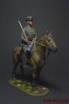 Красноармеец - кавалерист, 1939-1943 - Оловянный солдатик коллекционная роспись 54 мм. Все фигурки расписываются художником вручную