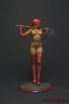 Миры Фэнтези: Непобедимая - Оловянный солдатик коллекционная роспись 54 мм. Все фигурки расписываются художником вручную